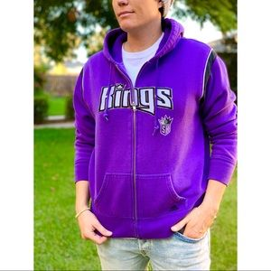 adidas NBA Sacramento Kings Full Zip Hoodie